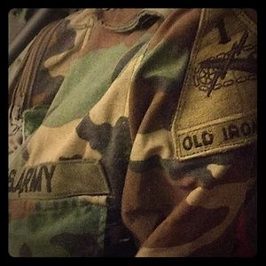Original Vietnam camo jacket